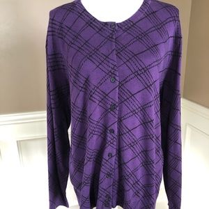NWT Plus Size Cardigan by Karen Scott. XXL.